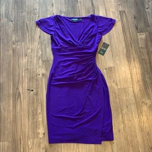 👗 NWT!! Ralph Lauren Purple Dress, Size 2